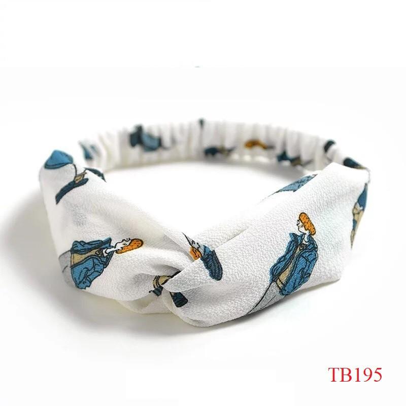 Băng đô turban thắt nhiều kiểu xinh xắn 183-206 Mayconner