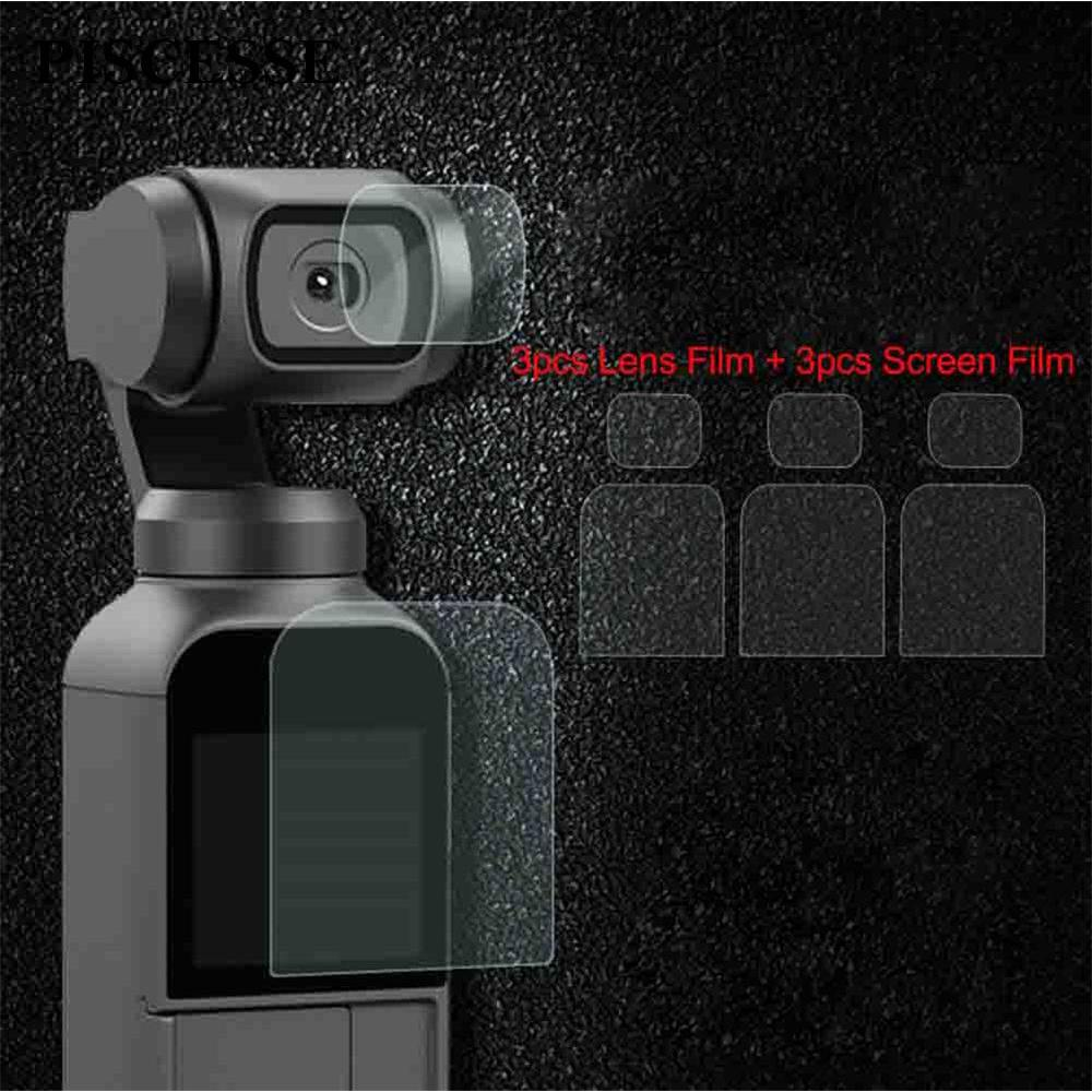 Protective Film Lens/Screen Flexible 9H For DJI OSMO Pocket Camera