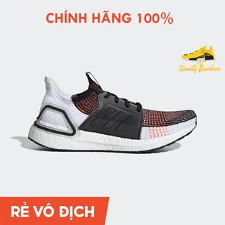 (100% chính hãng Adidas) Giày Thể Thao Adidas Ultra boost 19 Nam Cam Đen G27519