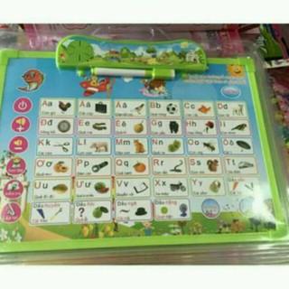 Bảng học song ngữ Anh-Việt cho bé 5 tờ 11 chủ đề