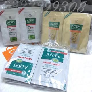 [ Combo 10 gói Mẫu Dùng Thử Chính hãng ] Sữa Rửa Mặt ACNES Dạng gói 3g rất tiện để túi và mang đi du lịch thumbnail