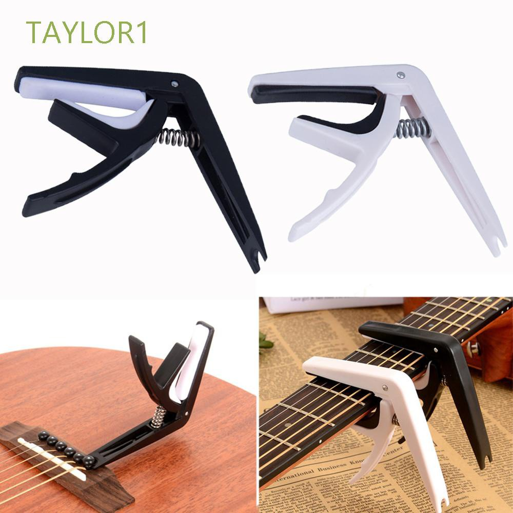 TAYLOR1 Big Hand Grab Guitar Capo Key Metronome Tuner Clip Trigger Professional Electric Musical Transpose Tune Clamp/Multicolor