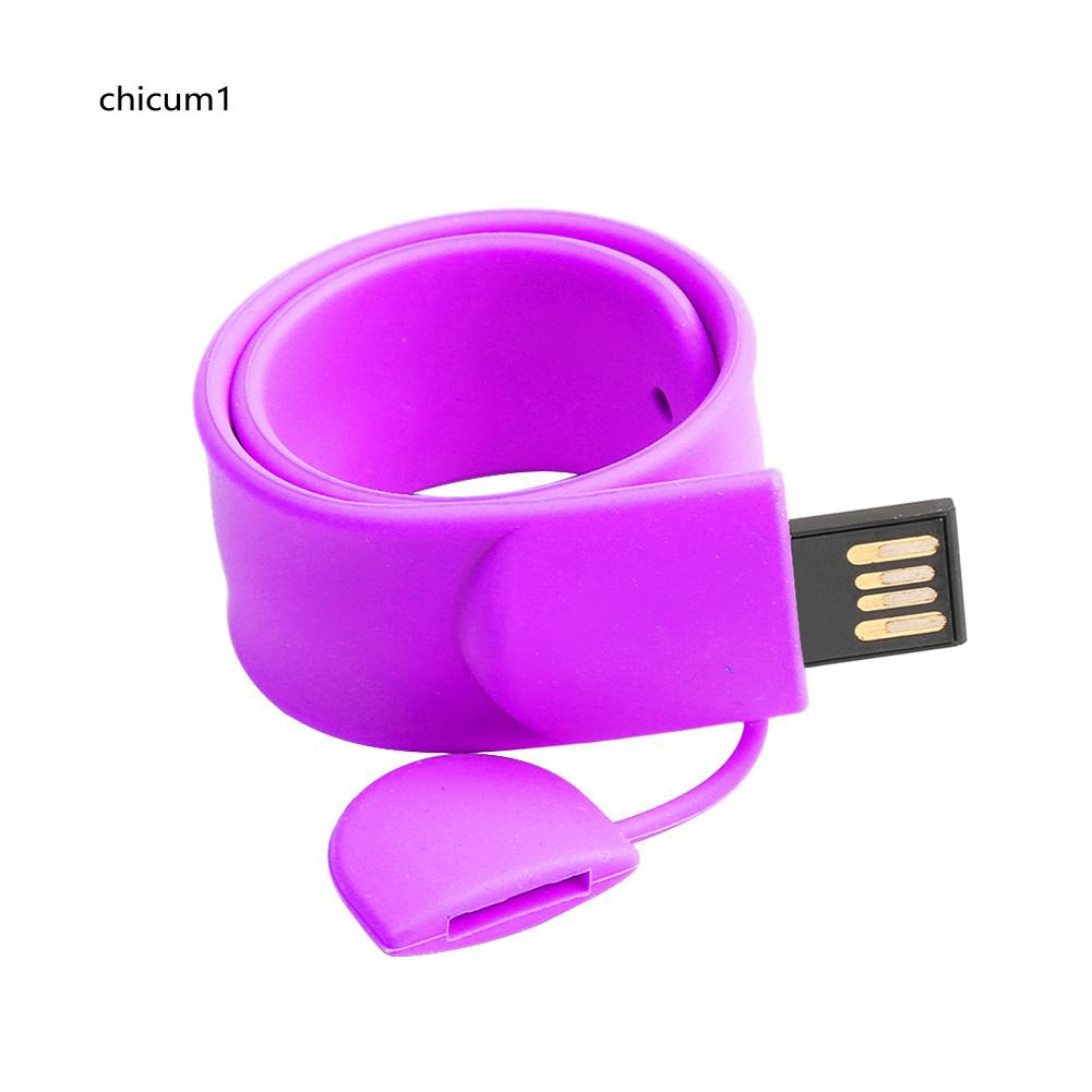CHI Wristband 4GB 8GB 16GB 32GB 64GB USB Flash Pen Drive U Disk Memory Stick Gift
