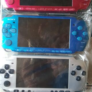 Máy game PSP 2000 chính hãng + thẻ game 16GB full thumbnail