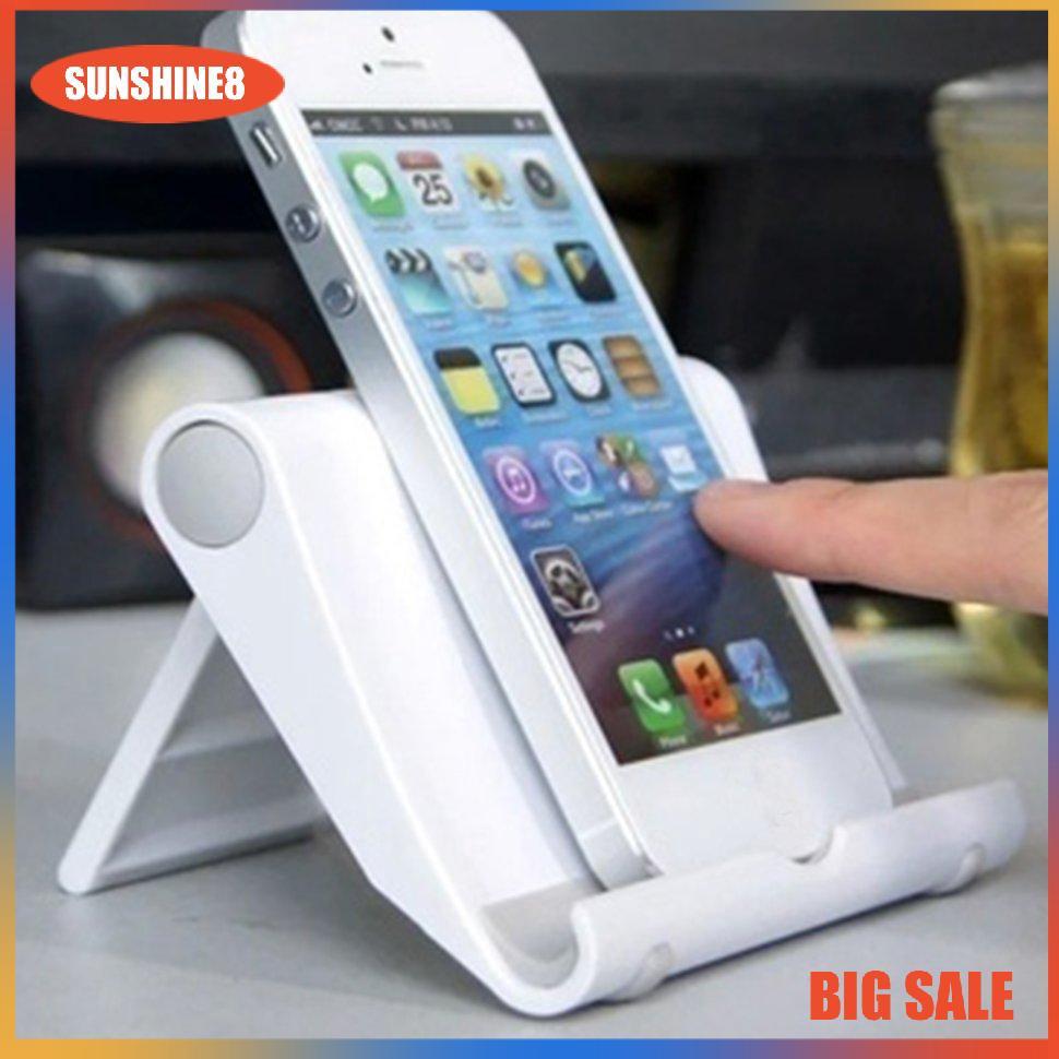 Giá đỡ điện thoại di động có thể điều chỉnh đa chức năng bằng nhựa nhẹ và tiện lợi / đệm silicon chống trượt