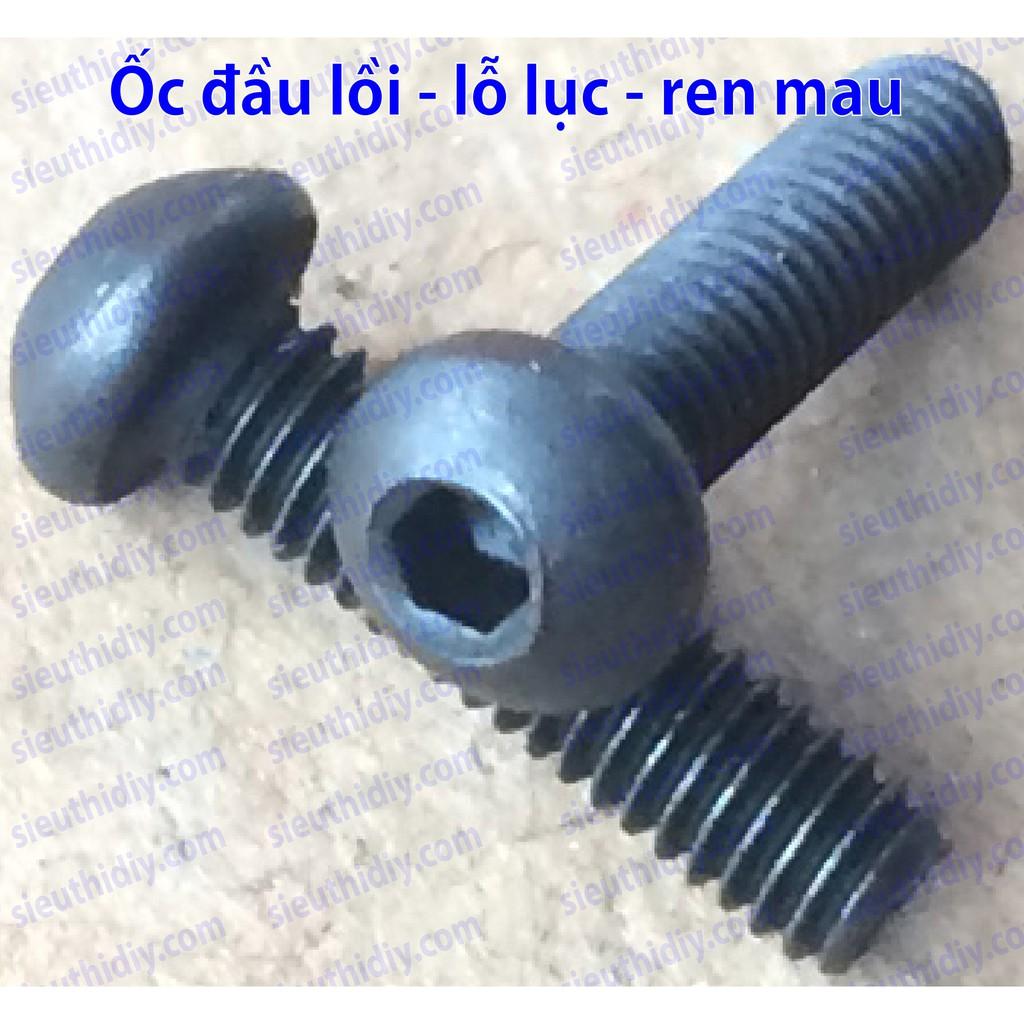 Ốc vít đầu lồi, lỗ lục giác, ren mau M2, M2.5mm - 3041678 , 1001215074 , 322_1001215074 , 25000 , Oc-vit-dau-loi-lo-luc-giac-ren-mau-M2-M2.5mm-322_1001215074 , shopee.vn , Ốc vít đầu lồi, lỗ lục giác, ren mau M2, M2.5mm