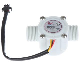 1Pc 1/2'' water flow sensor control effect flowmeter hall 1