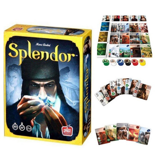 READY!!!Boardgame Splendor - Thu Thập Đá Quý Cities of Splendor Board Game  Card Game chiến thuật | Shopee Việt Nam