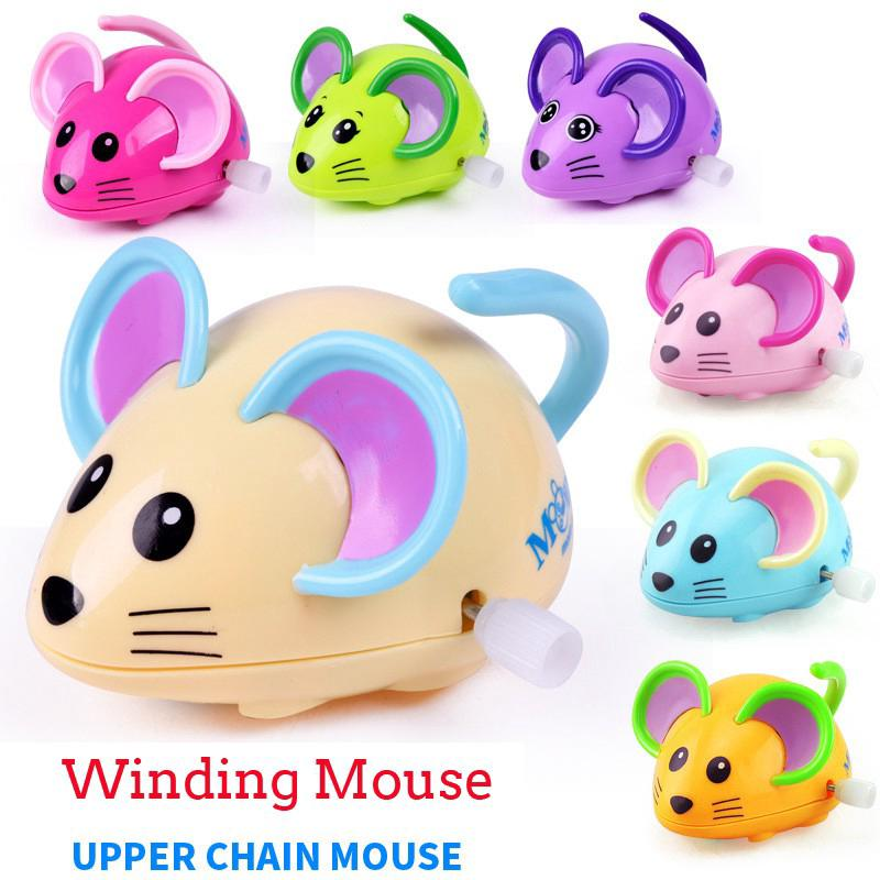 Cute Cartoon Baby Toy Mouse Toy for Child Random Color