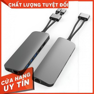 CỔNG CHUYỂN HYPERDRIVE VIBER 10-IN-2 4K60HZ USB-C HUB FOR MACBOOK/IPADPRO/LAPTOP/SMARTPHONE