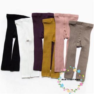 Quần Legging Cotton Màu Trơn Thời Trang 2019 Cho Bé Sơ Sinh