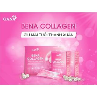 [FREESHIP] (Hàng chính hãng) Bena collagen hộp 30 gói- chống lão hoá, giúp da căng bóng, khoẻ từ bên trong