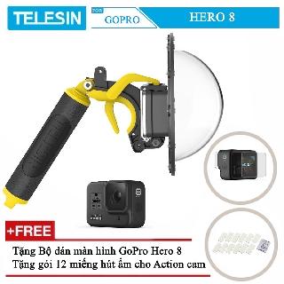 Dome TELESIN dùng cho camera hành động GoPro Hero 8 thumbnail