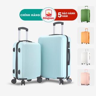 Vali du lịch Kingsun vali kéo size20/24inch bảo hành 5 năm KS159
