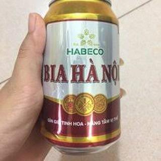 (HCM) combo 5 lon bia Hà Nội 330 ml