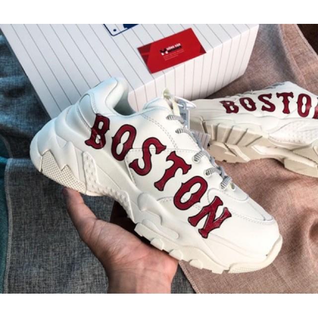 Giầy mlb boston trắng hàng 11 ( full box + free ship )