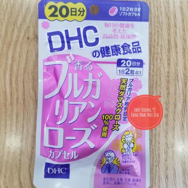 (Sẵn + Review + Bill) Viên uống hoa hồng Bulgarian Rose DHC khử mùi cơ thể, Thơm khoang miệng - 9977981 , 674127015 , 322_674127015 , 270000 , San-Review-Bill-Vien-uong-hoa-hong-Bulgarian-Rose-DHC-khu-mui-co-the-Thom-khoang-mieng-322_674127015 , shopee.vn , (Sẵn + Review + Bill) Viên uống hoa hồng Bulgarian Rose DHC khử mùi cơ thể, Thơm khoang