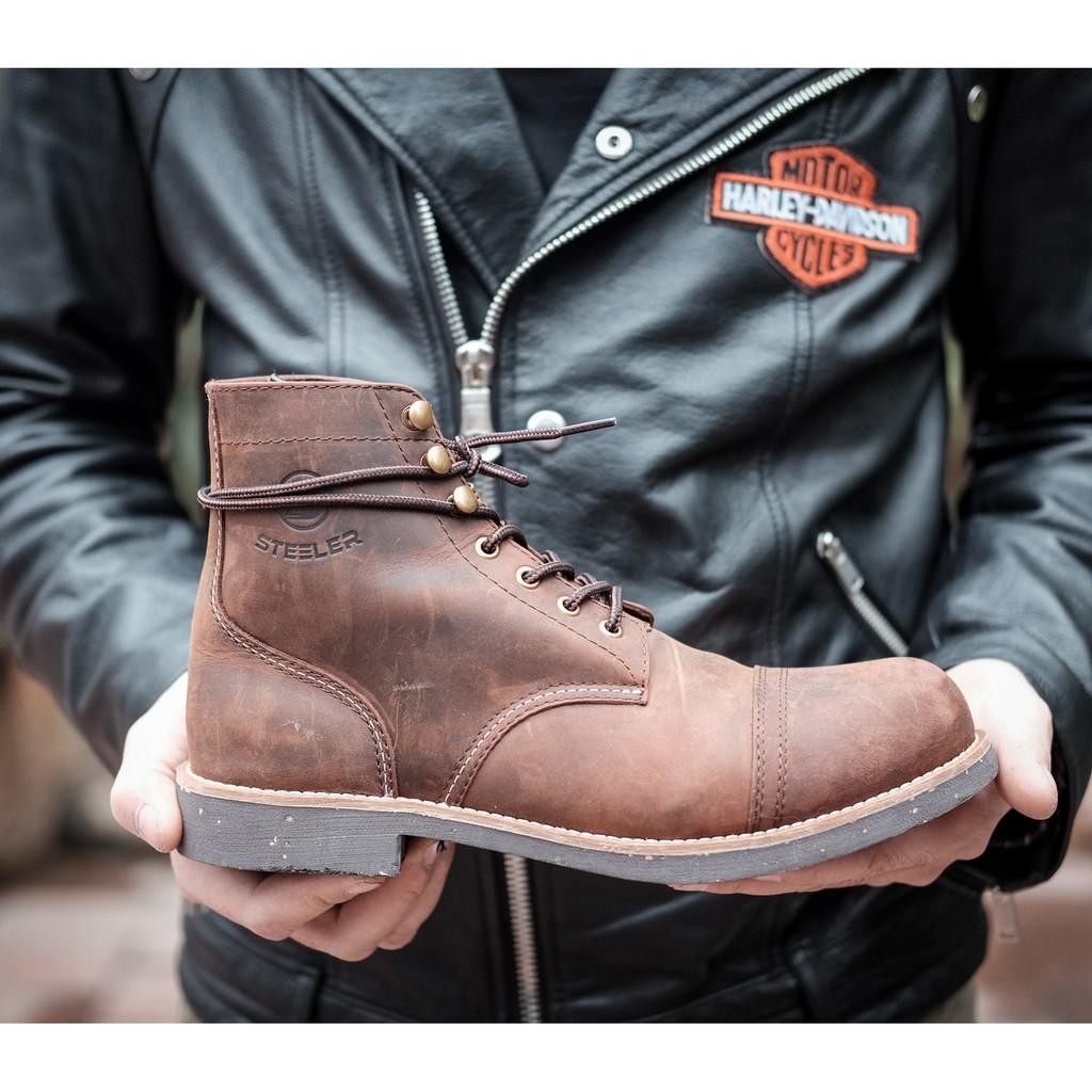 Boot IRON cao cổ 300-SG