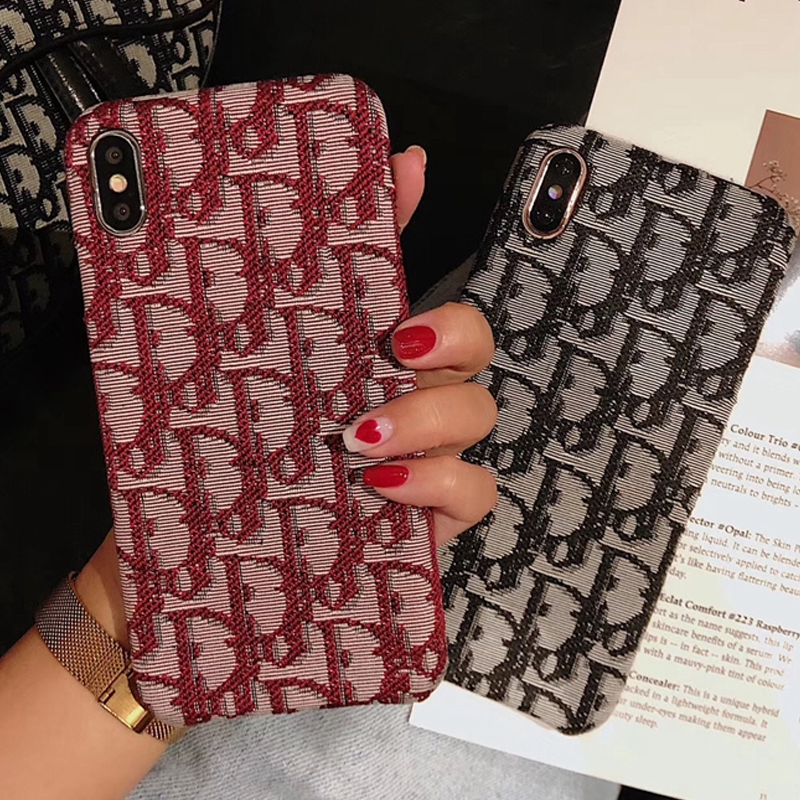 Soft Embroidery Cover 8 Tide Brand 7PLUS 6/6S X iPhone Half Pack Case 6SPLUS XR