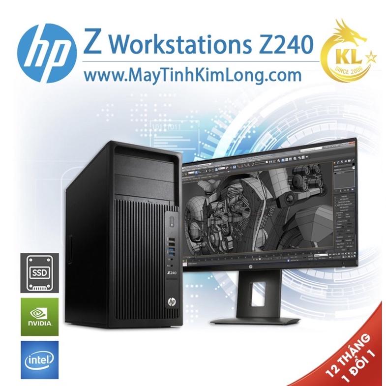 Xác Máy HP Workstation Z240 MT - Chạy Gen6/7 Likenew 96% - Tặng Kèm Key Win