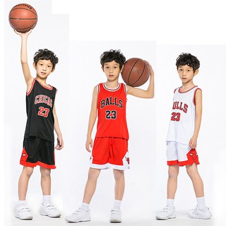 hot-Kids Basketball Jersey Sets Boys Sports Clothing Breathable Training Top&Shorts