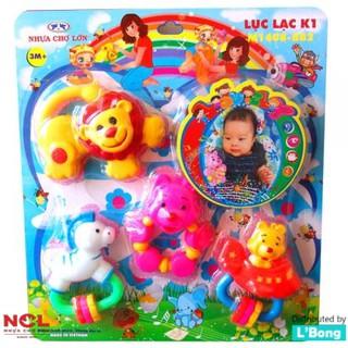 Lục lạc cho bé K1 – Nhựa Chợ Lớn