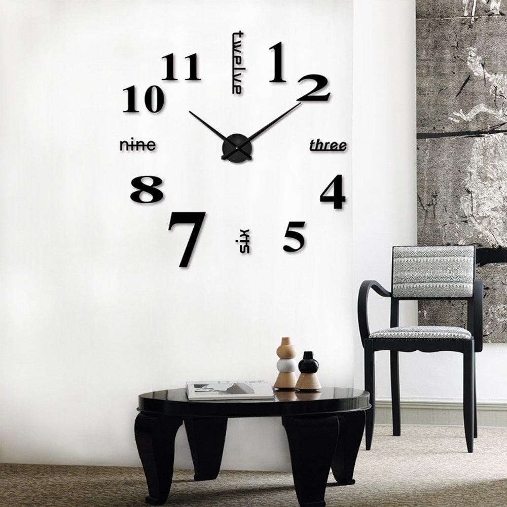 Đồng hồ treo trang trí tường bằng acrylic cho phòng ngủ