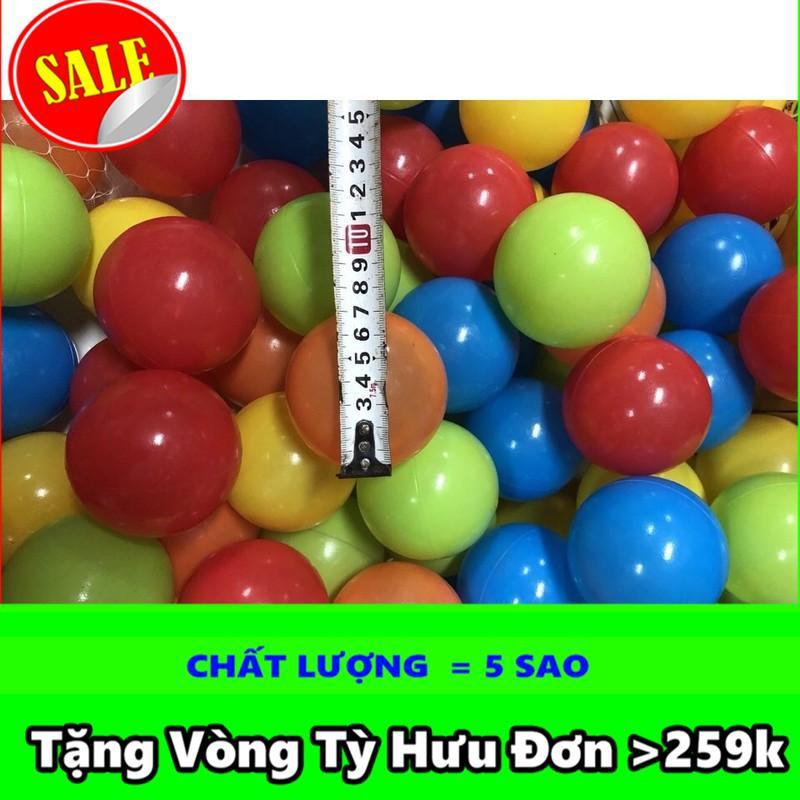 [HOT]   Túi 50 quả bóng nhựa 7cm