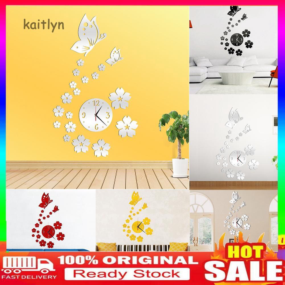 Sticker dán tường hình bươm bướm 3D dùng trang trí nhà cửa