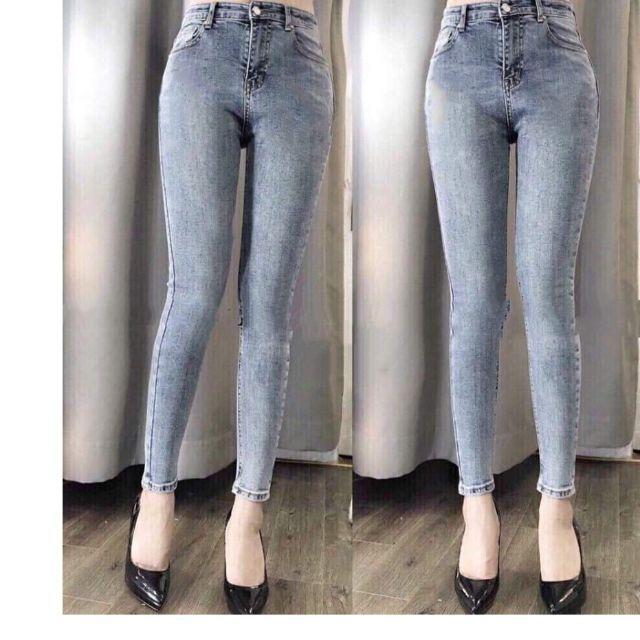 Quần Jeans Nữ trơn BoDy 1045 (có size lớn)