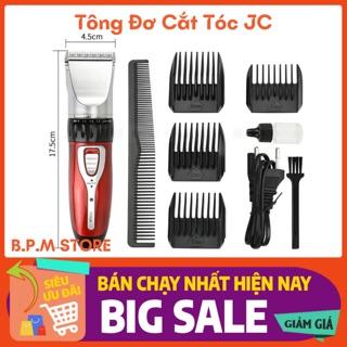 Tông đơ cắt tóc Gia đình Jichen 0817+ tặng kèm lược