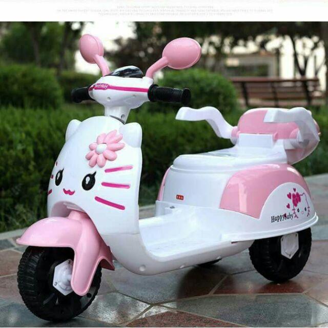 Xe máy điện cho bé kiity sành điệu cho bé - Sỉ