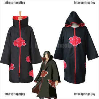 Áo Choàng Hóa Trang Nhân Vật Hoạt Hình Akatsuki Itachi