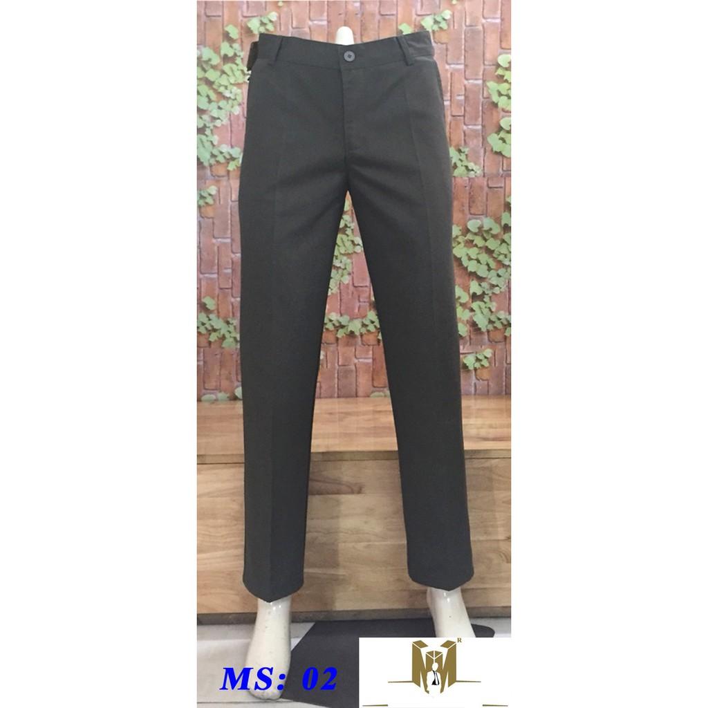 quần kaki trung niên ống rộng ms 02