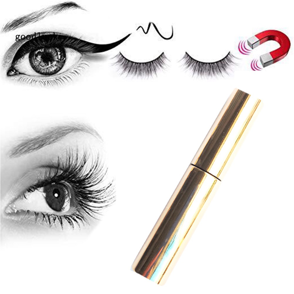 GLK_Waterproof Magnetic Liquid Eyeliner Sweat Proof Quick Drying Long Lasting Makeup