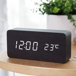 Đồng Hồ Để Bàn Điện Tử Led báo thức BT11 chuống to trang trí thông minh cao cấp màn hình LCD có hiển thị nhiệt độ