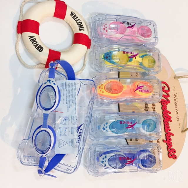 Kính bơi bảo vệ mắt chống UV full box