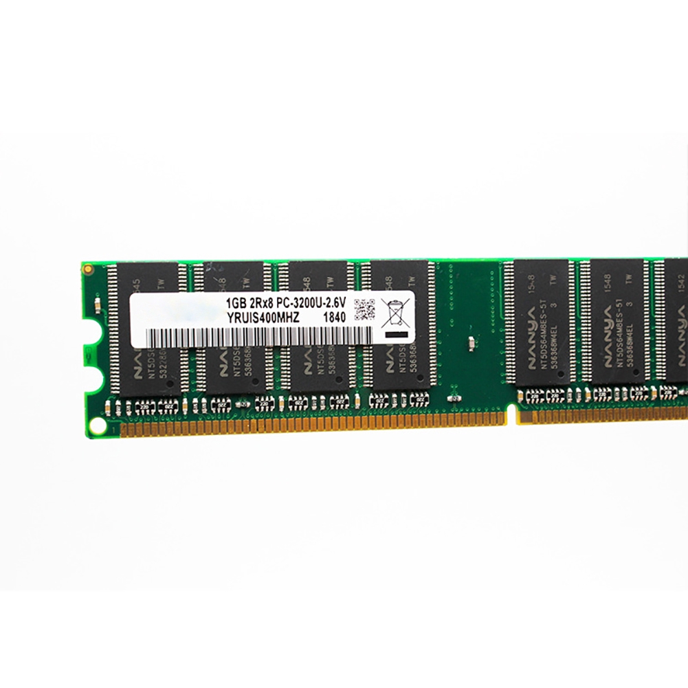 Stable Fast Low Density For Desktop Computer Compatible 400MHZ DDR 1GB Transmission Smoothly Memory