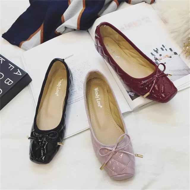 (ORDER) Giày búp bê mũi vuông nơ nhỏ - 2494119 , 507491054 , 322_507491054 , 350000 , ORDER-Giay-bup-be-mui-vuong-no-nho-322_507491054 , shopee.vn , (ORDER) Giày búp bê mũi vuông nơ nhỏ