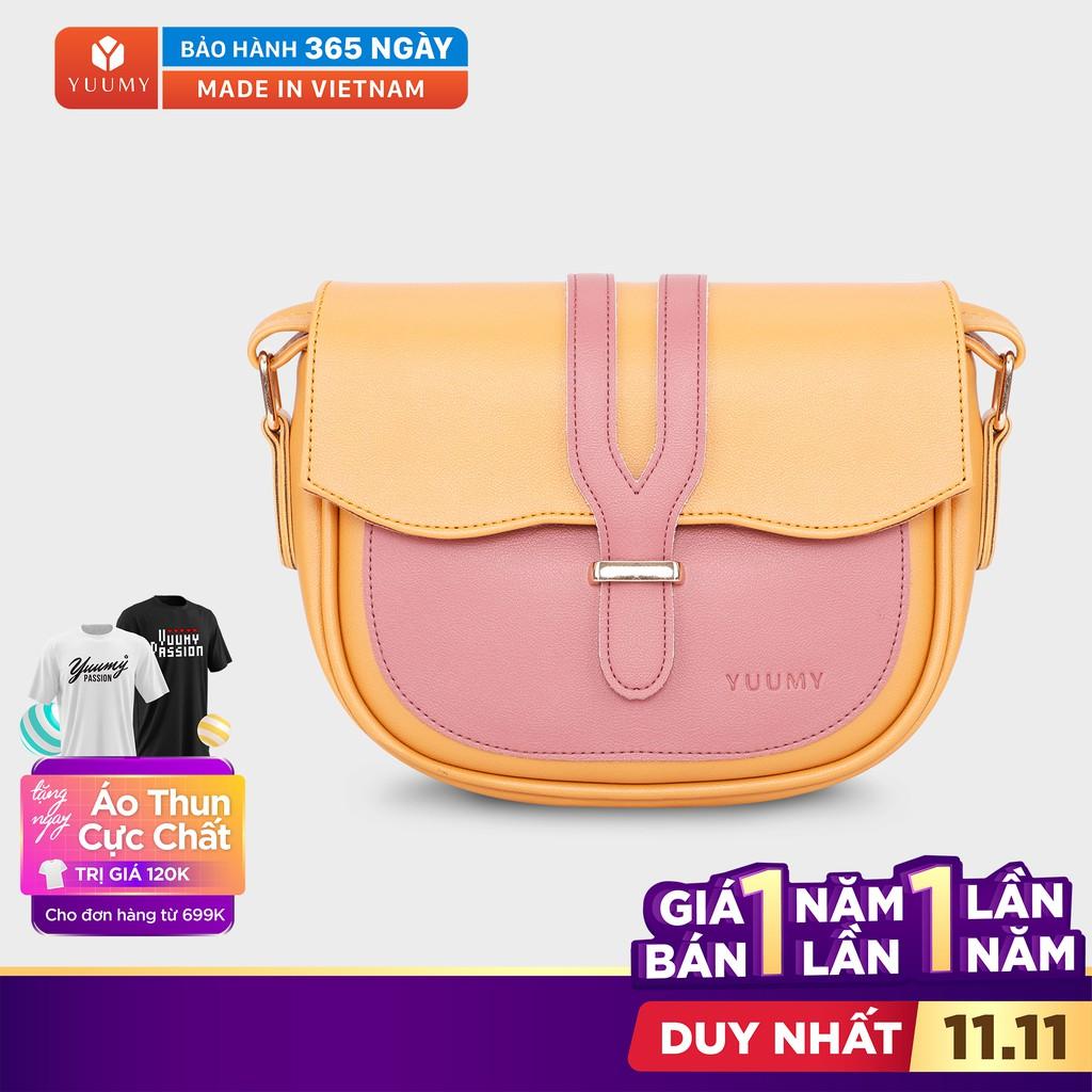 Túi đeo chéo nữ thời trang YUUMY YN54 nhiều màu