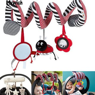 👶🏼Cute Cartoon Stroller Car Seat Cot Baby Play Travel Plush Toy Gifts for Baby