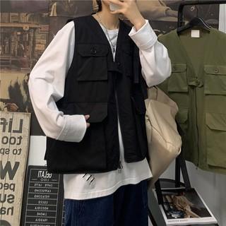 Áo khoác ngắn tay ngoài túi hộp chống đạn UNISEX phong cách, ảnh thật chính chủ cuối hình