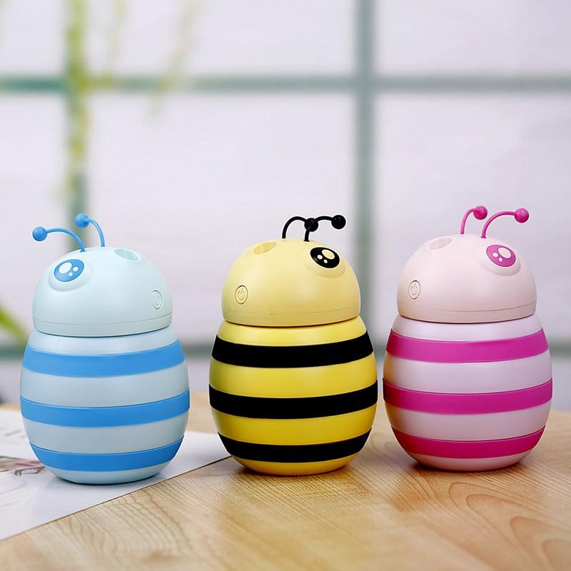 Máy Phun Sương Tạo Ẩm mini Hình Ong 3 màu sắc