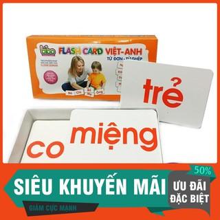 [Ưu Đãi Khủng] – Bộ Thẻ Học Từ Đơn- Từ Ghép Cho Con Học Chữ (120 thẻ) – KM 50%