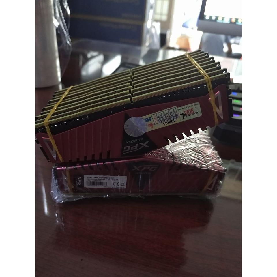 Ram máy tính DDR4 - 4Gb Bus 2400MHz ADATA XPG Tản nhiệt thép, bảo hành 2020