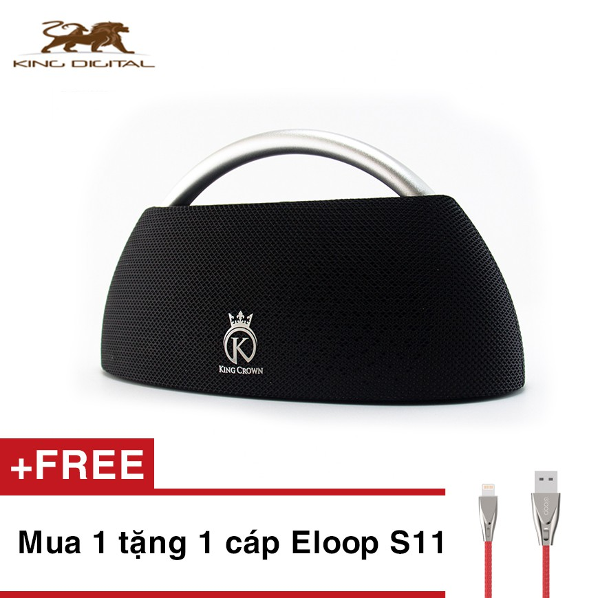 Loa Bluetooth Cao Cấp KING CROWN GO + PLAY (MY659BTS)
