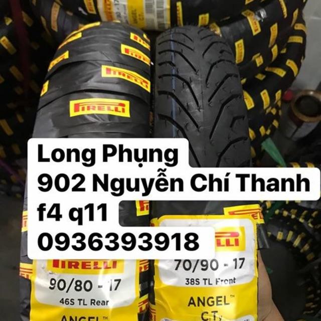 Vỏ xe Pirelli 70/90-17 , 80/90-17 Angel CT , 120/70-17 Pirelli , 130/70-17 Pirelli !