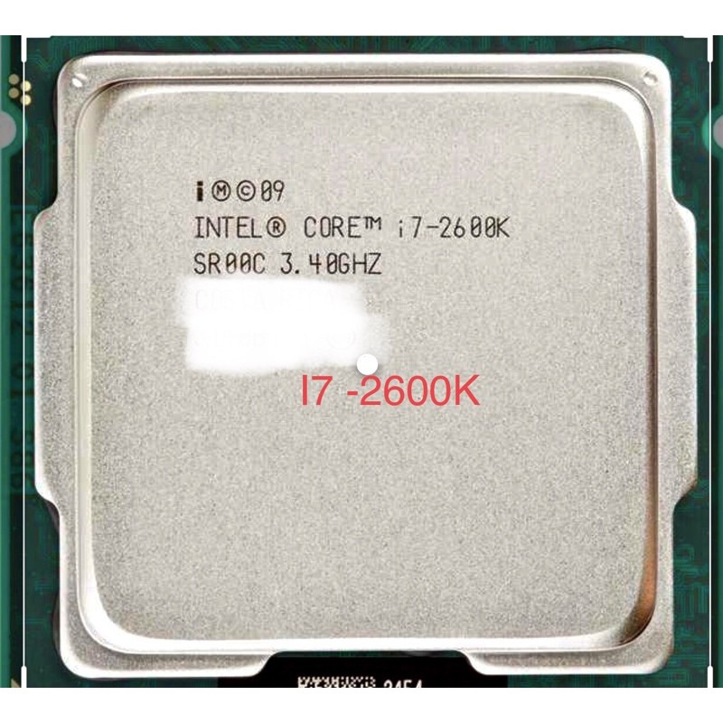 Bảng giá Intel Core I7 2600K Phong Vũ