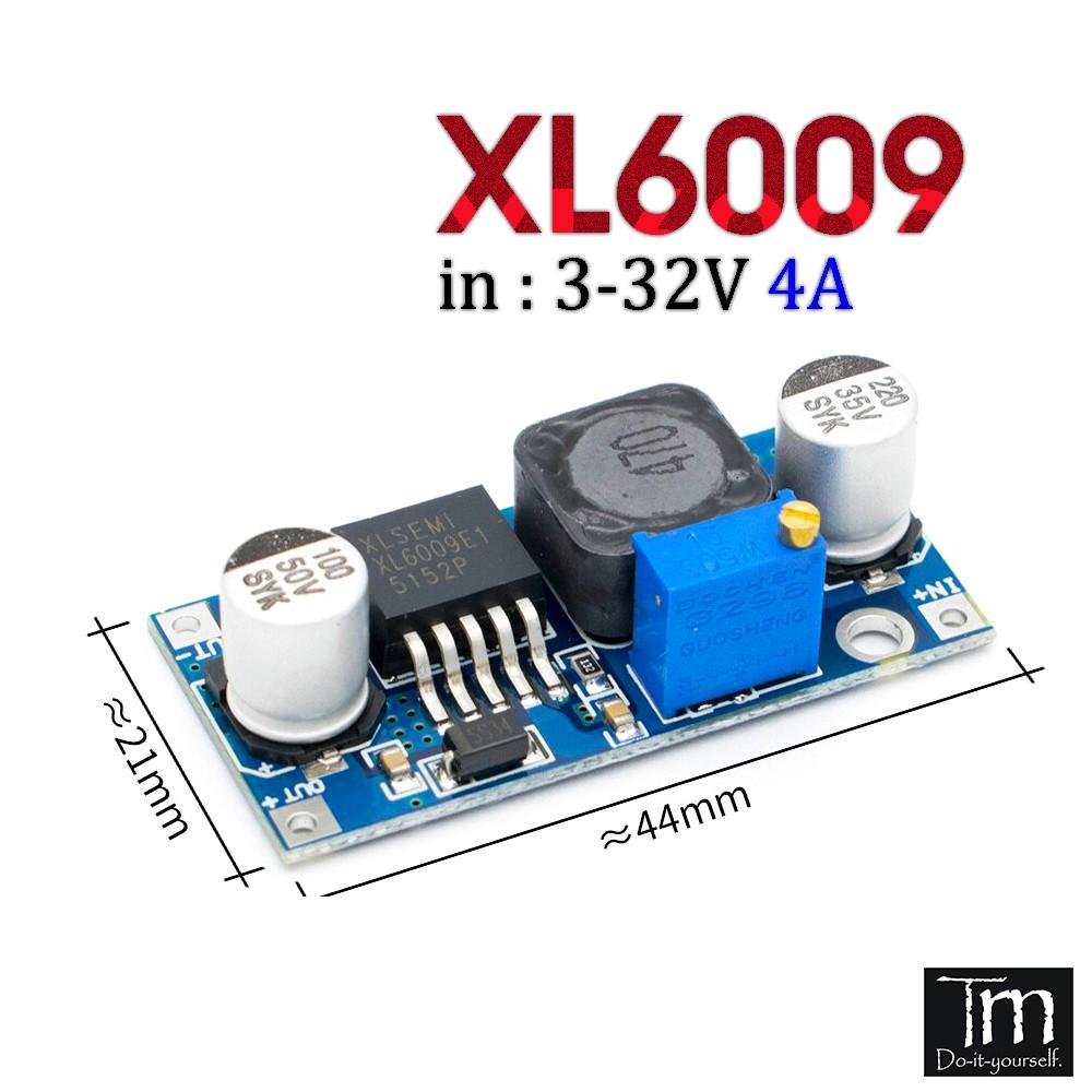 Mạch Tăng Áp XL6009 Nâng Áp 4A (5V-35V)