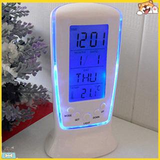 Đồng hồ báo thức kỹ thuật số tích hợp đèn LED xanh dương spbs _ LED